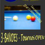 Saint-Mihiel – Tournoi OPEN – 3-Bandes – 2016