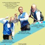 Finale nationale – Artistique – Masters – Académie de Billard de Saint-Dizier – 2018/2019