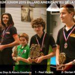 Finale nationale – 14/1 continu – Juniors – 2018/2019
